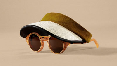 Revel - Sunglasses visors half - Black & havana