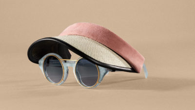 Revel Visor sunglasses Pink